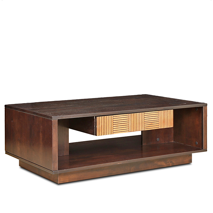 Sienna Engineered Wood Center Table in Wenge&Oak Colour by HomeTown