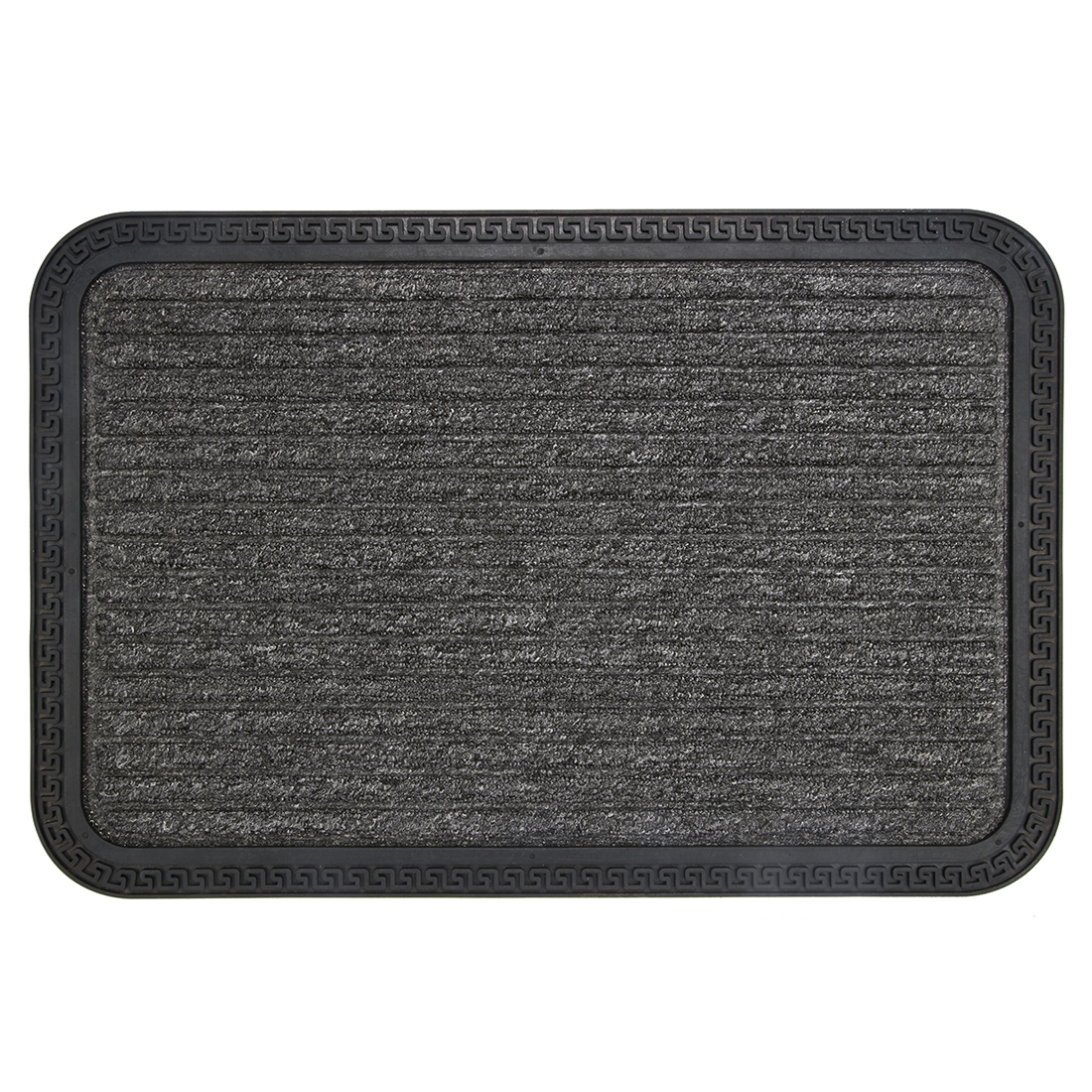 Rubber Backed Mat Rubber Door Mats in Rubber Colour by Living Essence