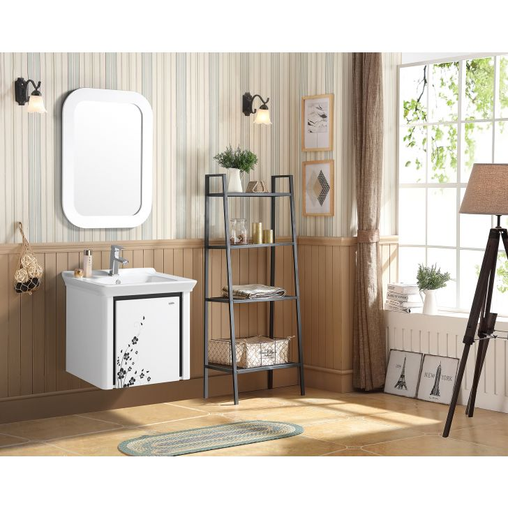 Blassom Bath Vanity in White Colour by HomeTown