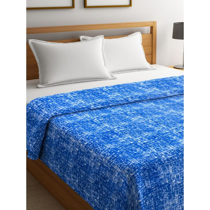 Portico New York Imprints Double Blanket in Blue Color by Portico