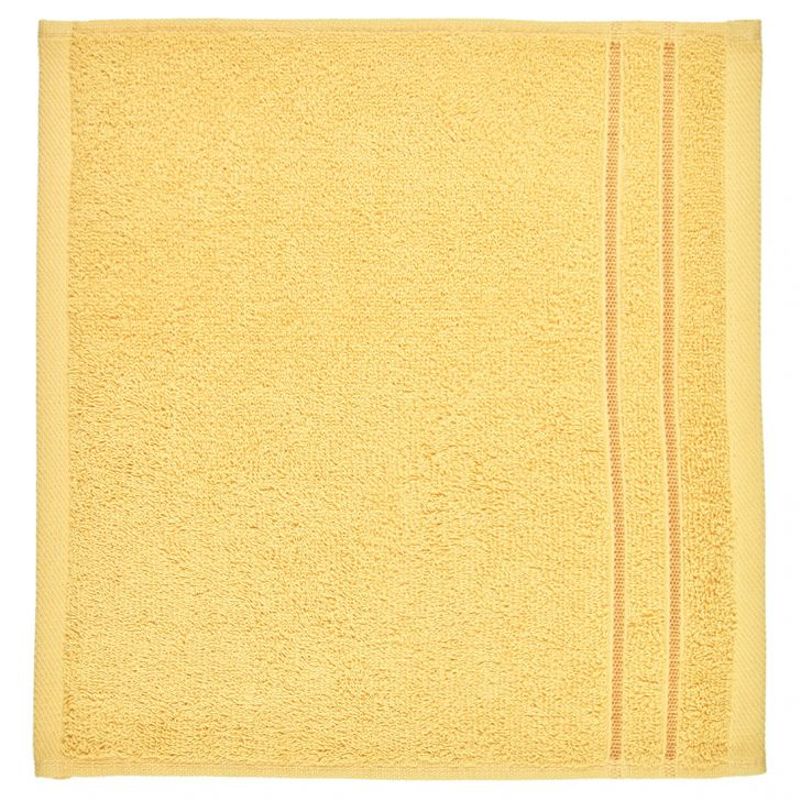 Face Towel Nora Butterscotch Cotton Face Towels in Cotton Colour by Living Essence