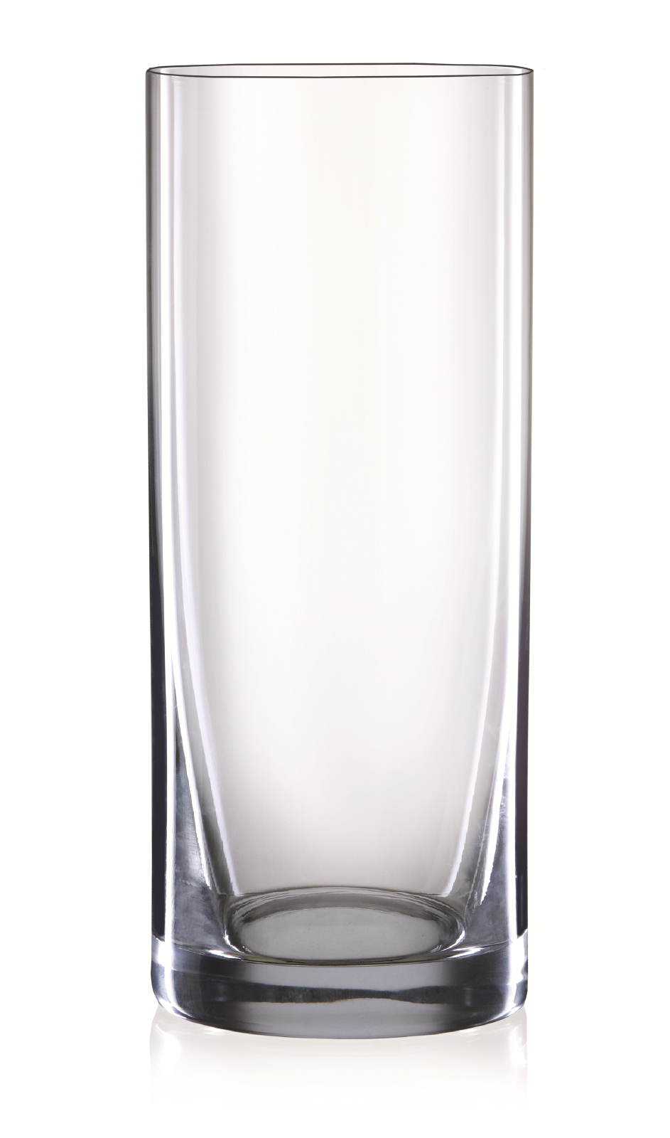 Bohemia Crystal Vase (260 mm) Bar Glassware in Transparent Colour by Bohemia