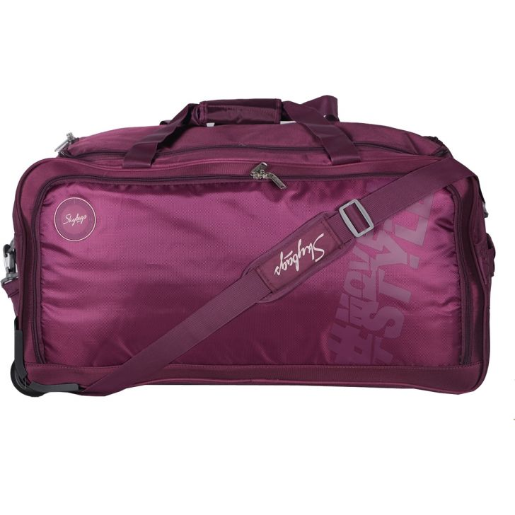 Skybags Casper Wheel On Duffle 67cm (Purple)