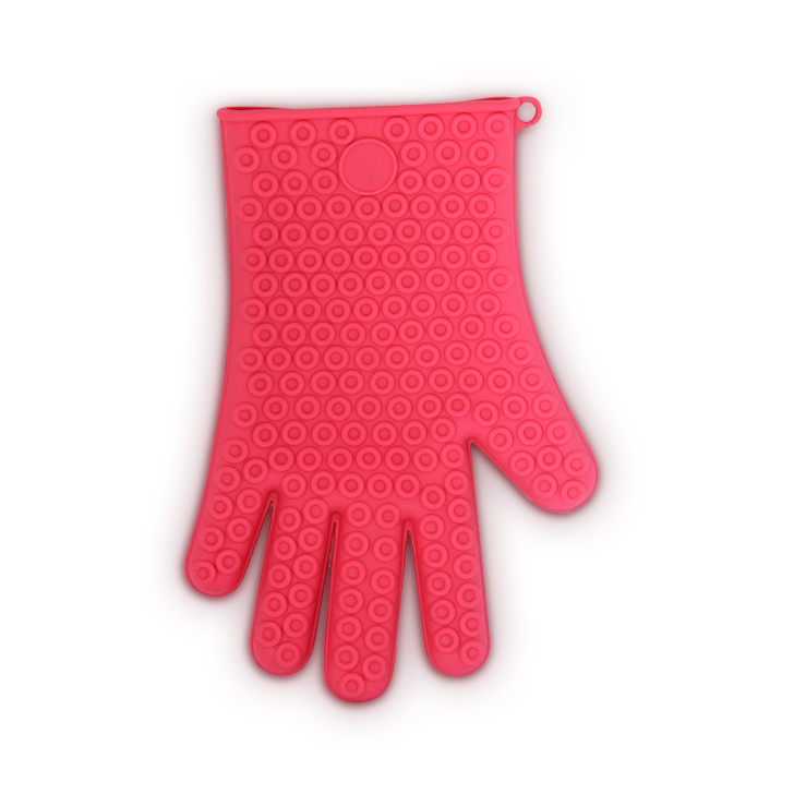 HomeTown Silicone Glove Red Silicon Gloves in Red Colour by Living Essence