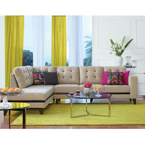 L Shaped Sofa Buy Stylish L Shaped Sofa Designs At Best Price Hometown