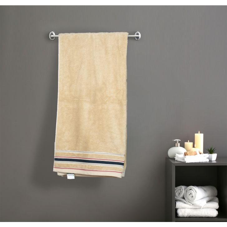 Seriosly Soft Cotton Bath Towels in Beige Colour by Cannon