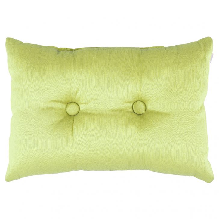 Fiesta Filled Polyester Filled Cushions in Green Colour by Living Essence