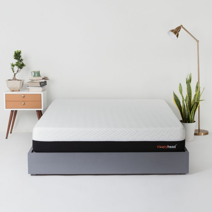 Sleepyhead Sense - 3 Zoned Orthopedic PCM Cooling Foam Mattress, 78x36x6 inches (Single Size) Single Size Mattress in White Colour by Sleepyhead