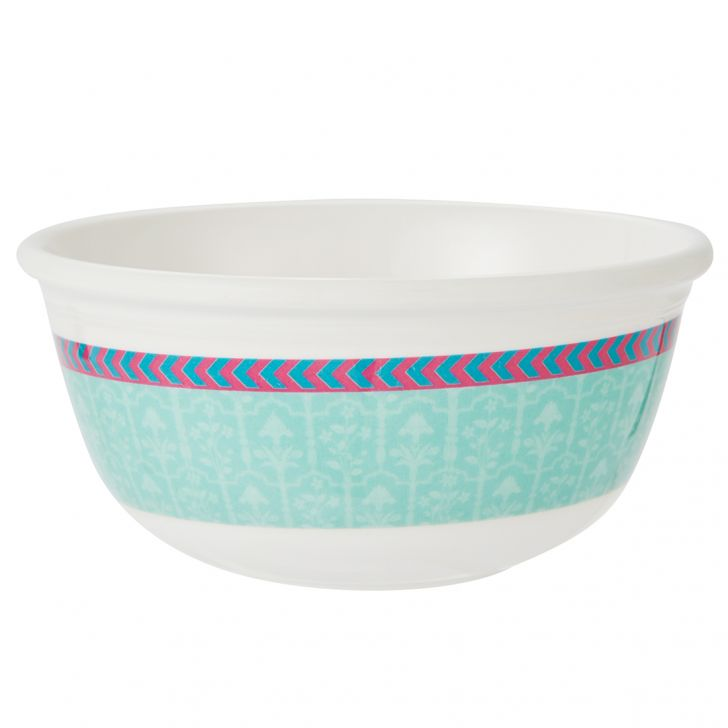 Rambagh Veg Bowl Serving Bowls in Multicolour Colour by Living Essence