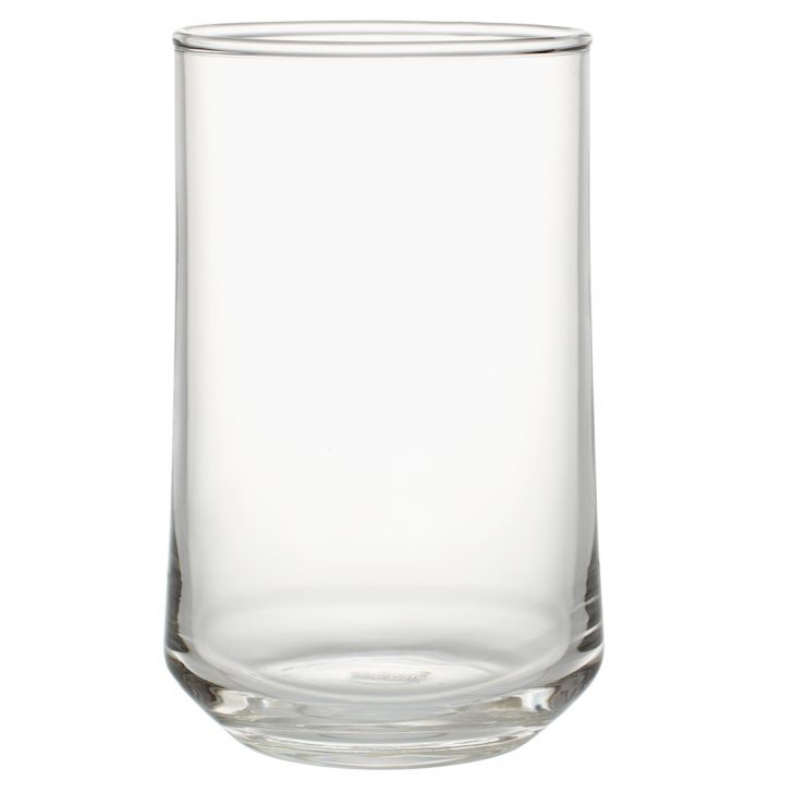 Patio Glass Tumblers in Transparent Colour by Living Essence
