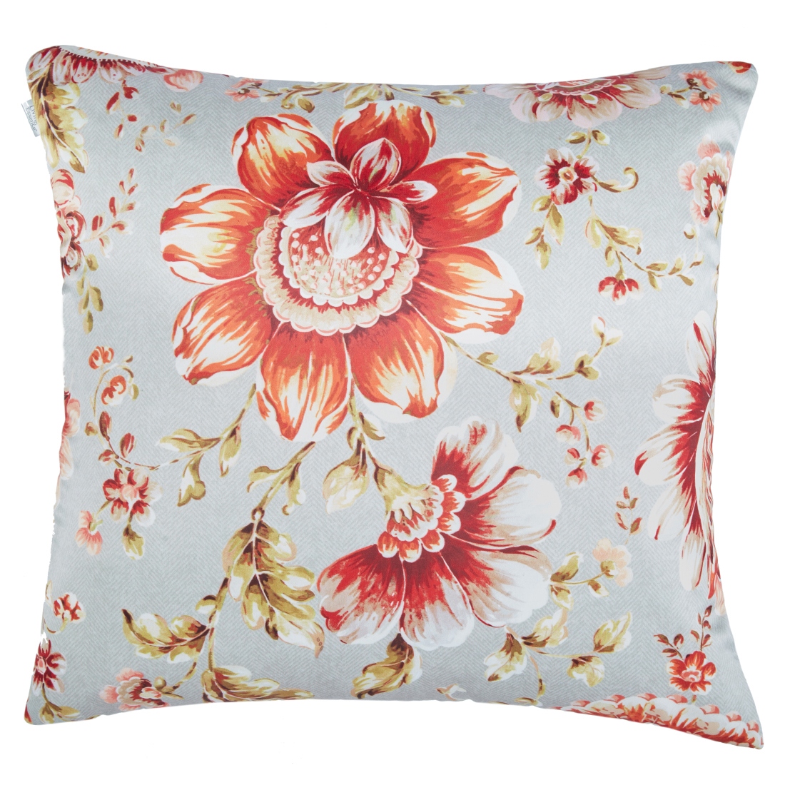 Digital Cushion Cover Jacobean Cushion Covers in Poly Satin Colour by Living Essence