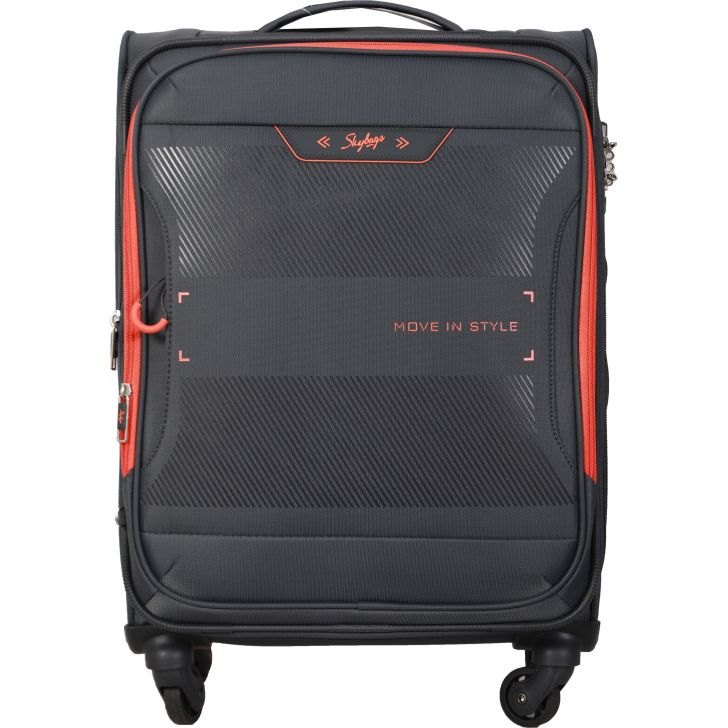Skybags Xpanse Spinner Soft Trolley 58 cm (Grey)