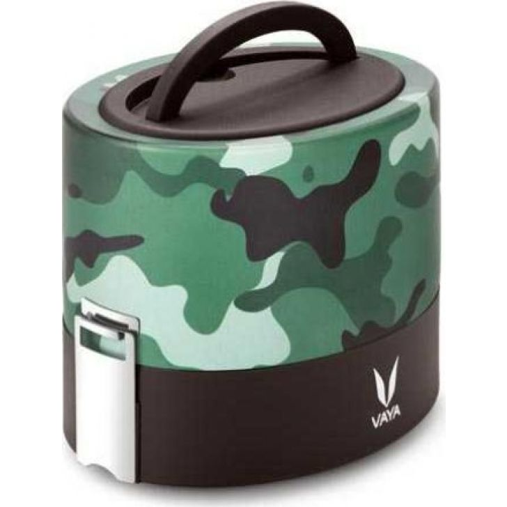Stainless Steel Tyffyn 600ml in Camo Colour by Vaya