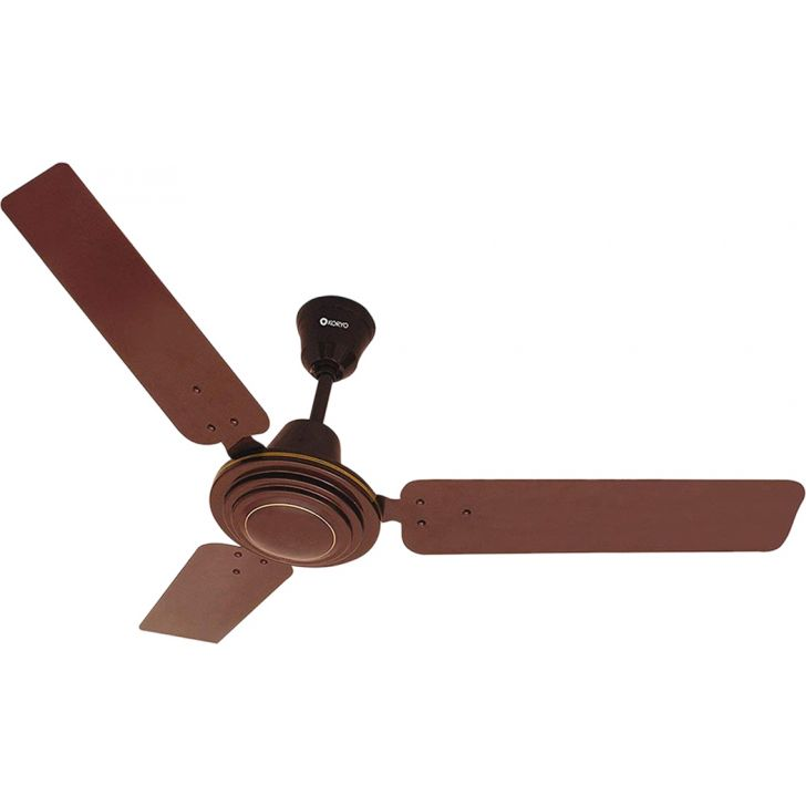Ceiling Fan, 380 RPM - Brown by Koryo