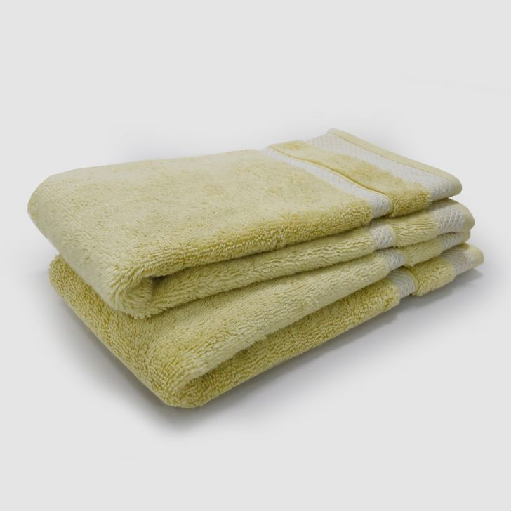 Spaces Cotton Towel Set in Hay Colour by HomeTown