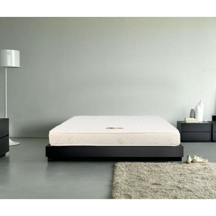 Mattress Lawrence HR Foam King Bed (78*72*5) in Off White Colour by HomeTown