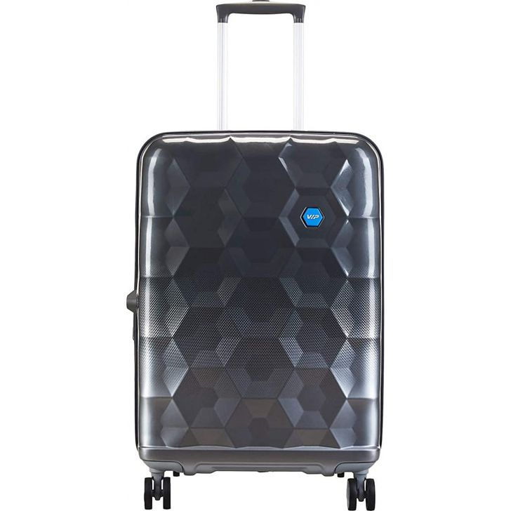 Fairway 68 cm Polycarbonate Hard Trolley in Silver Colour by VIP