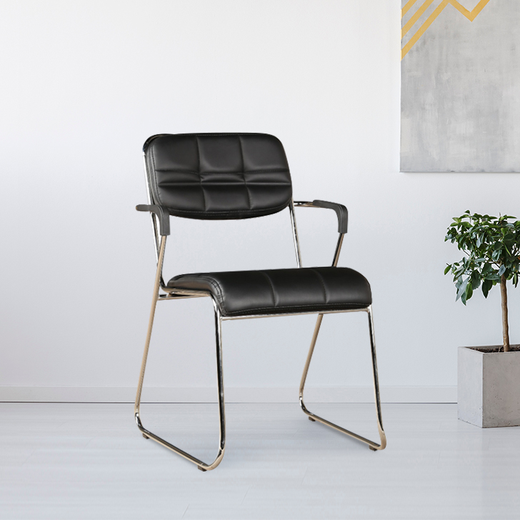 Swift Metal Office Chair in Black Colour by HomeTown