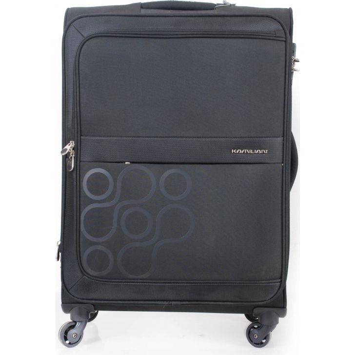 Kamiliant By American Tourister Oryo Soft Trolley 58 cm (Black)