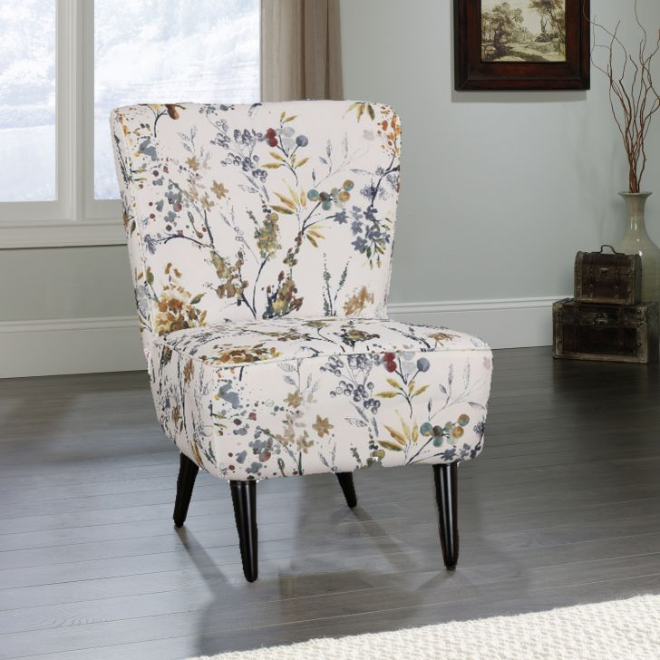 Tremblay Fabric Arm Chair in Brown Colour by HomeTown