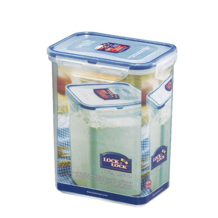 Lock & Lock Clear Food Container Polypropylene Containers in Transparent Colour by Lock & Lock