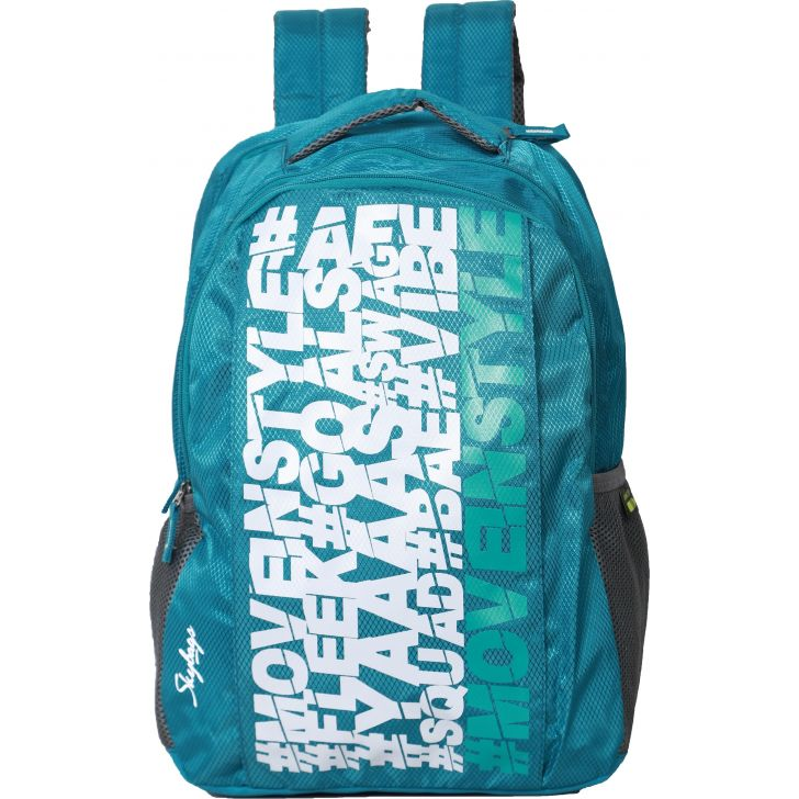 Skybags New Neon 15 Backpack (Sea Green)
