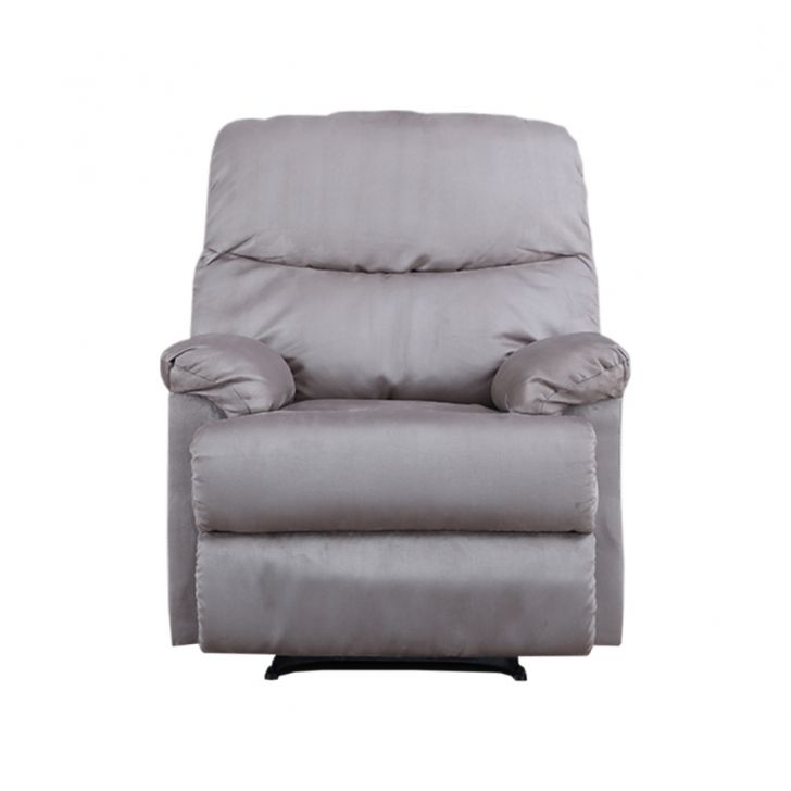 Radcliffe Fabric Single Seater Recliner in Grey Colour by HomeTown