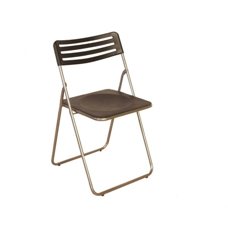 Eames Metal Outdoor Chair in Black Colour by HomeTown