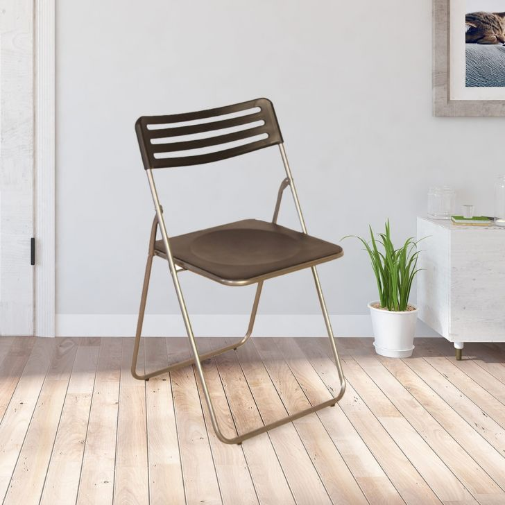 Eames Metal Outdoor Chair in Black Color by HomeTown