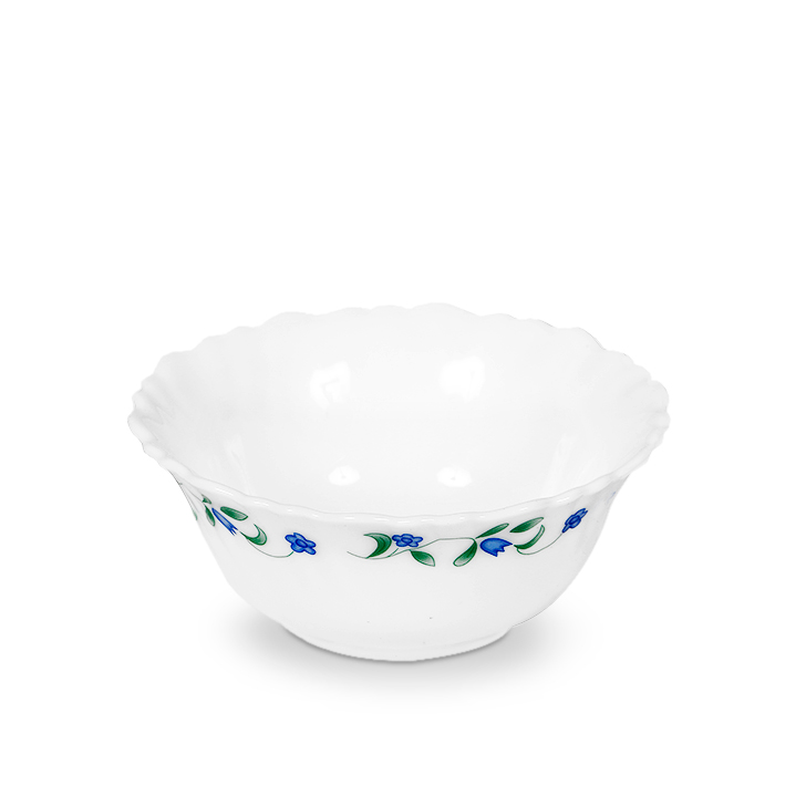 Diva Ceramic Katori in White Colour by Diva