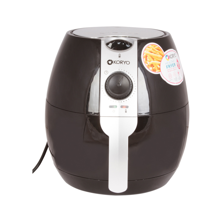 Healthy Fryer - 3.2 Litres - Black by Koryo