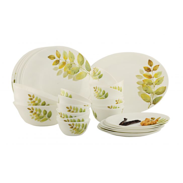 Diva Diva Autum Shadow Ivory Dinner Set 27 Pc