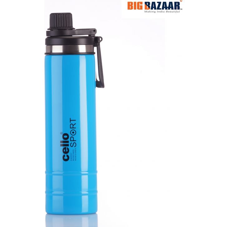 Boom Flask 800ML Steel Vaccuum Flask in Multi Colour by Cello
