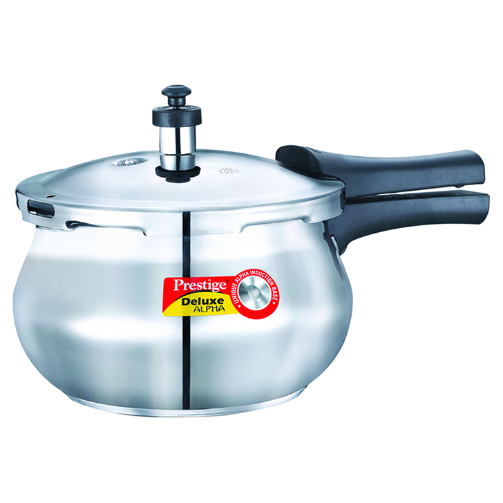 Prestige Stainless steel Cookers in Silver Colour by Prestige