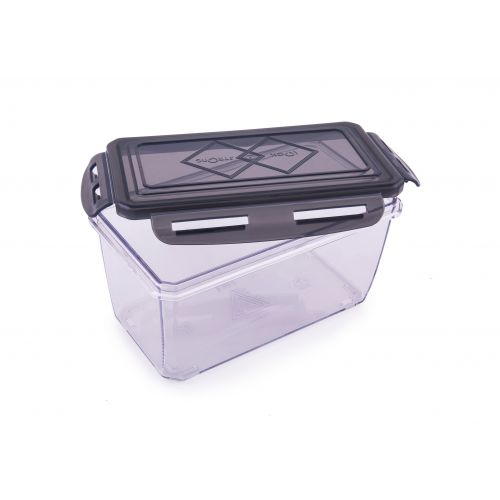 dec6d128e39 Clara Tritan Container 900 Ml Plastic Containers in Black Colour by HomeTown