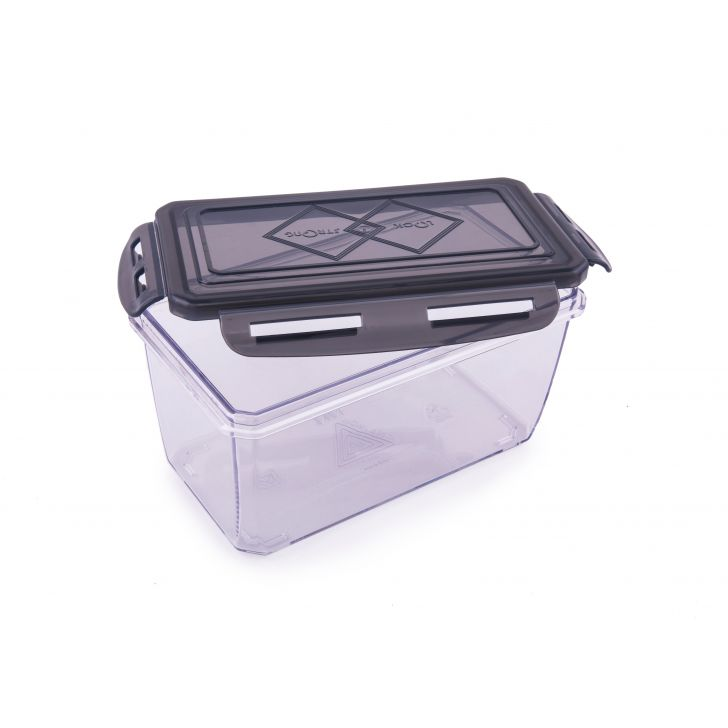 Clara Tritan Container 900 Ml Plastic Containers in Black Colour by HomeTown