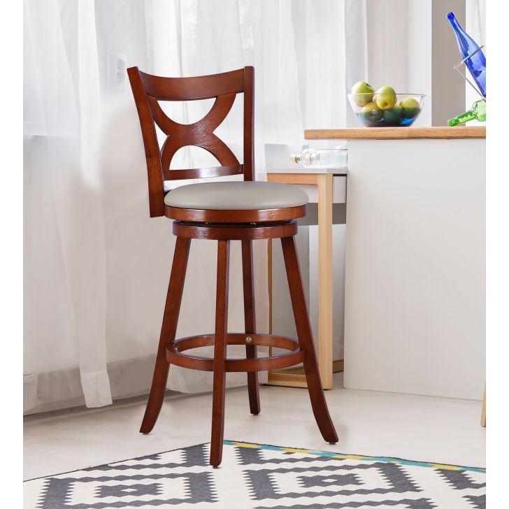 Bourbon Solid Wood Breakfast & Barstool in Oak Colour by HomeTown