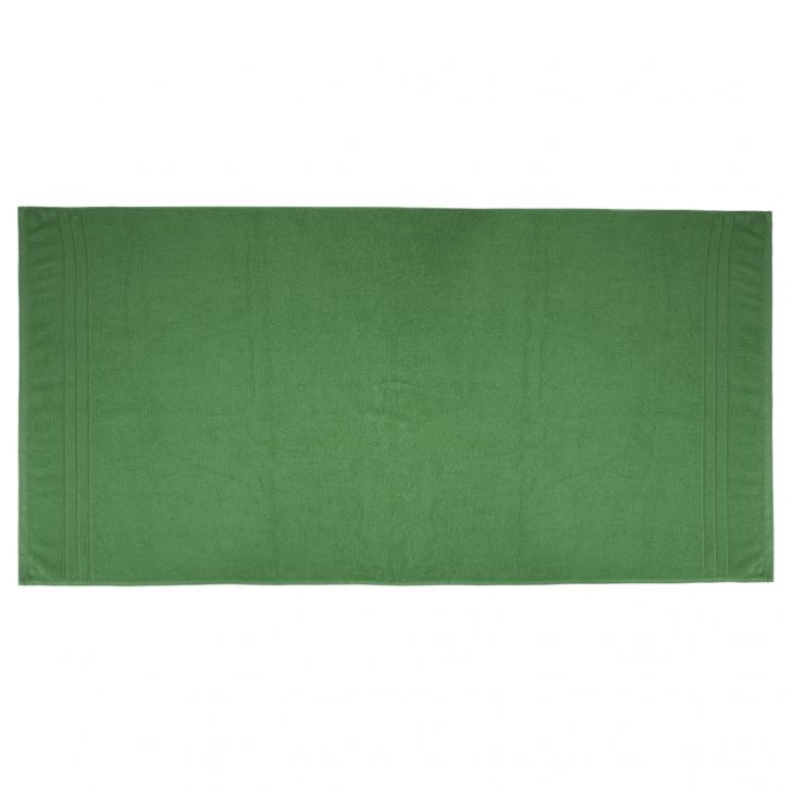 Bath Towel Nora Olive Cotton Bath Towels in Olive Colour by Living Essence