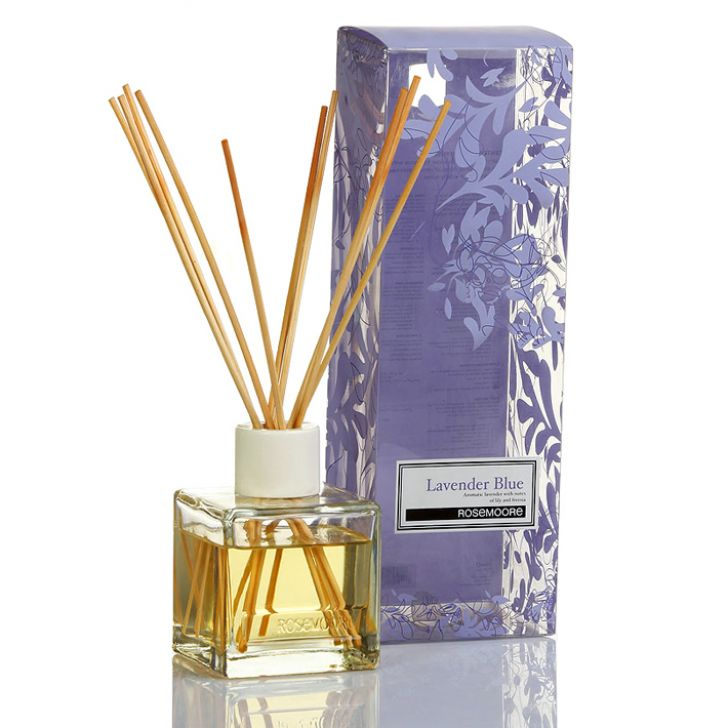 Rosemoore Scented Reed Diffuser Lavender Blue Lavender Blue Diffusers in Lavender Colour by Rosemoore