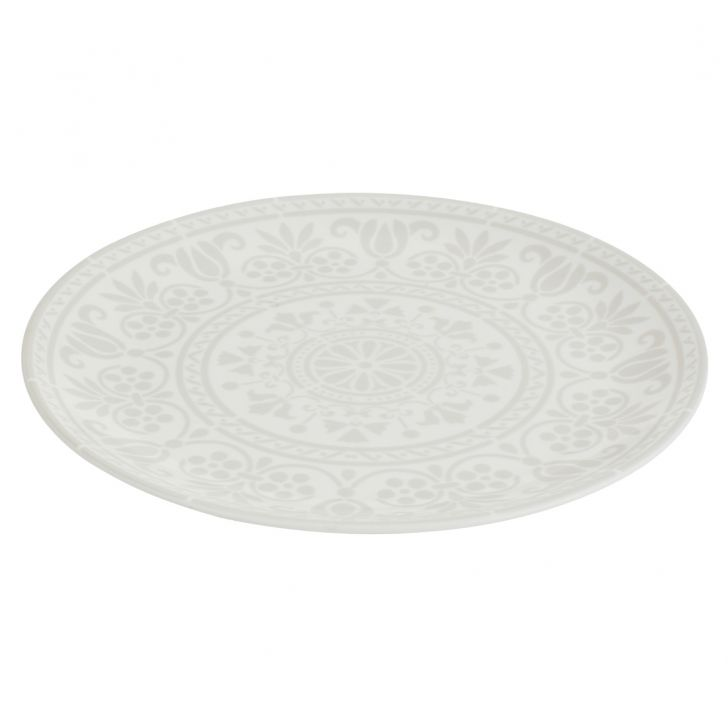 Ellen Dinner Plate Ceramic Plates in Multi Color Colour by Living Essence