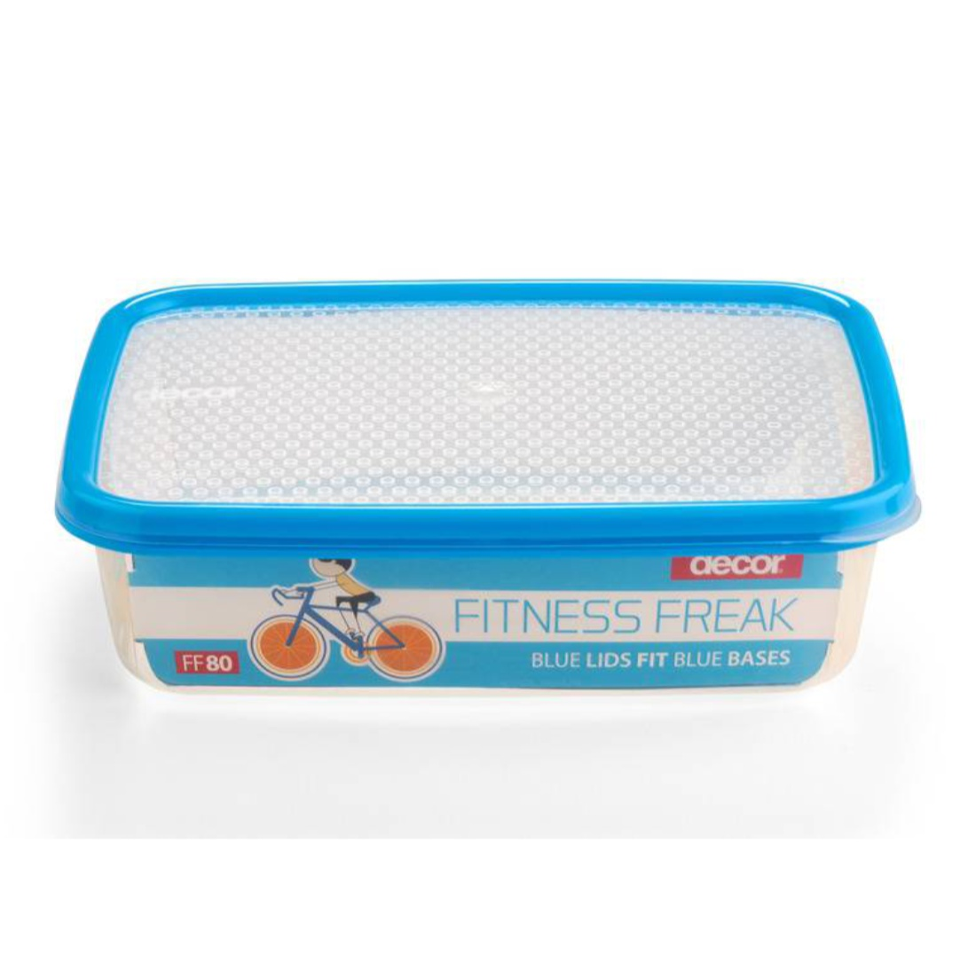 Fitness Freak 80 2.0L Glass Containers by Decor