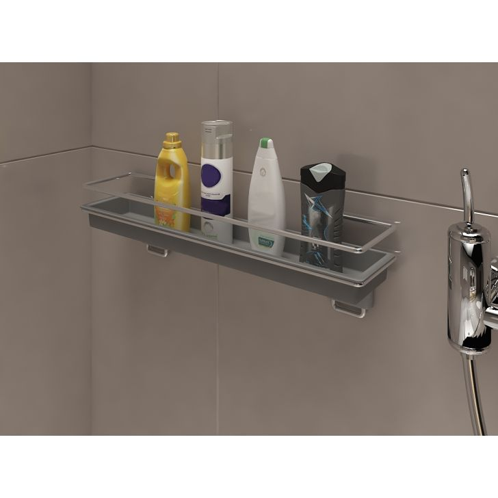 Dura Cucine Stainless steel Accessory Shelf in Chrome Colour by Hettich