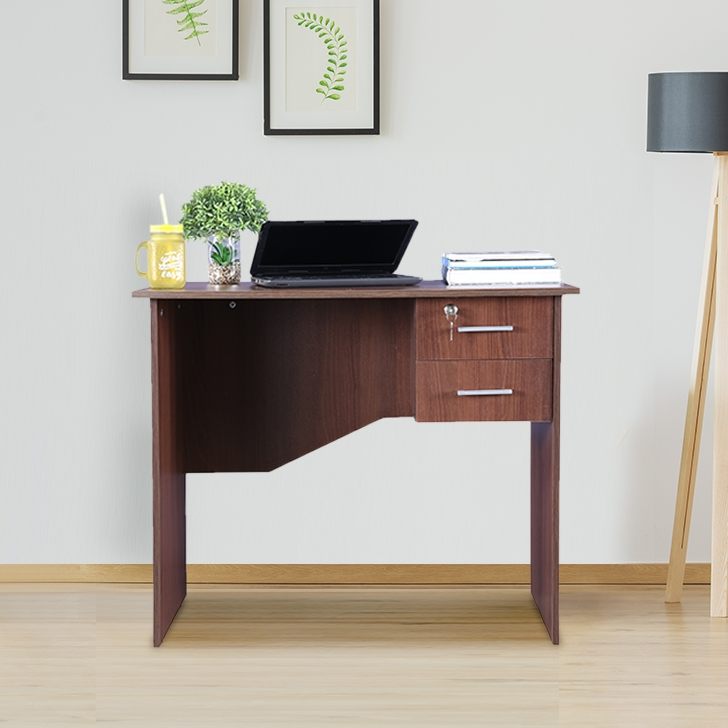 Simply Plus Engineered Wood Study Table in Acacia Colour by HomeTown