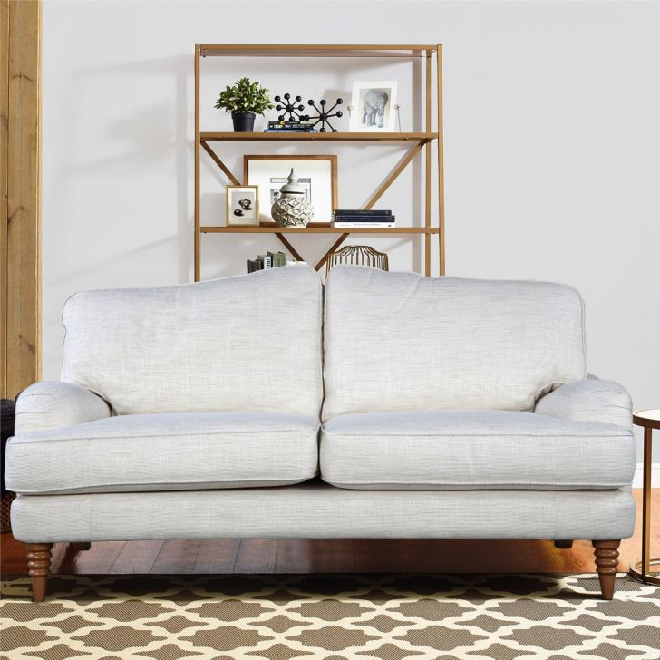 Lynden Fabric 2 Seater Sofa in Off White Colour