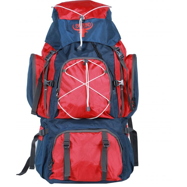 Buffalo Hiking Bag Polyester Travel Bag in Red Colour by BUFFALO