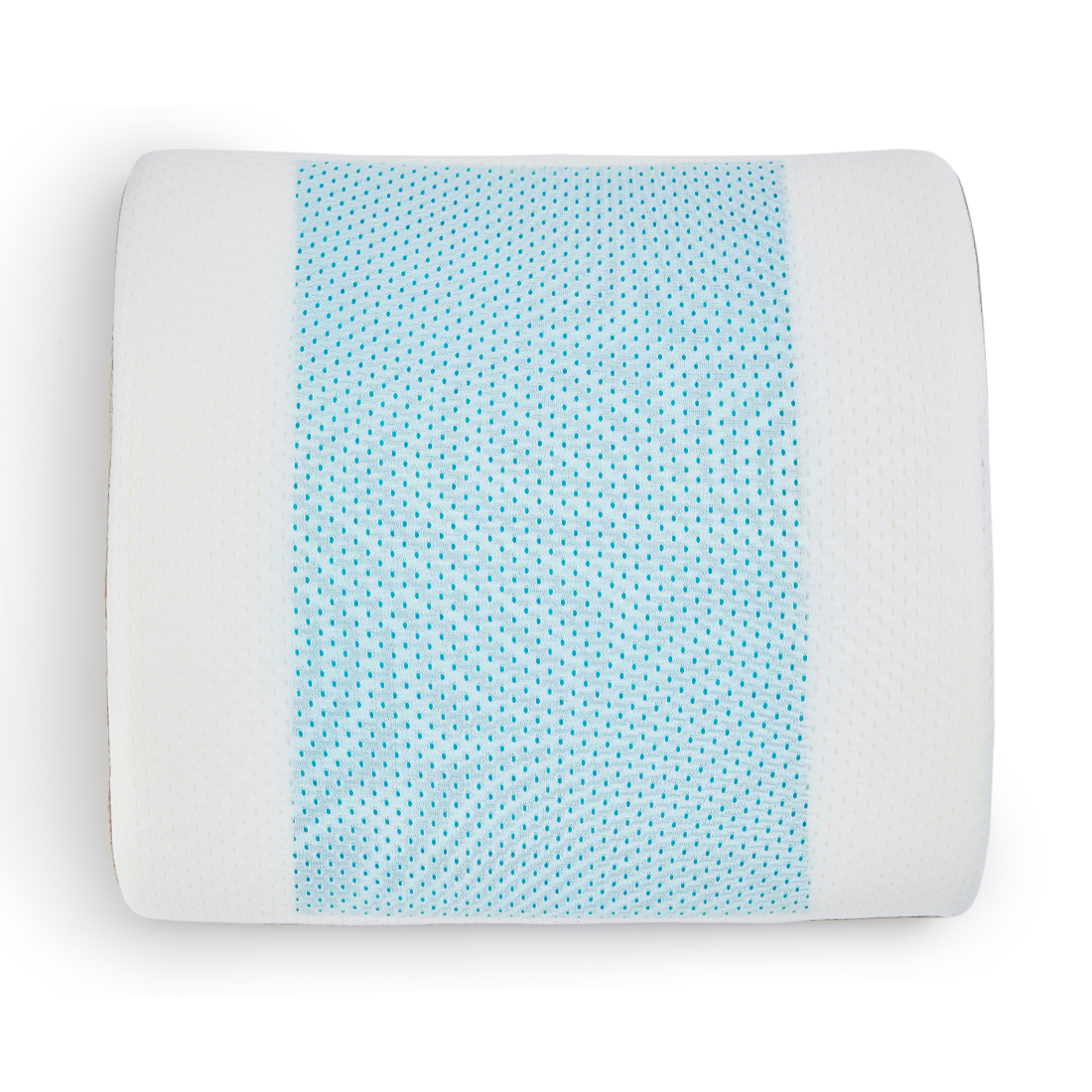 Memory Foam Lumbar Gel Pillow Memory Foam Memory Foam Pillows in Memory Foam Colour by Living Essence