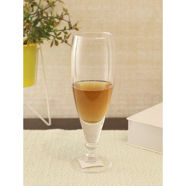 Sifer Glass Beer Tumbler in Transparent Colour by Living Essence