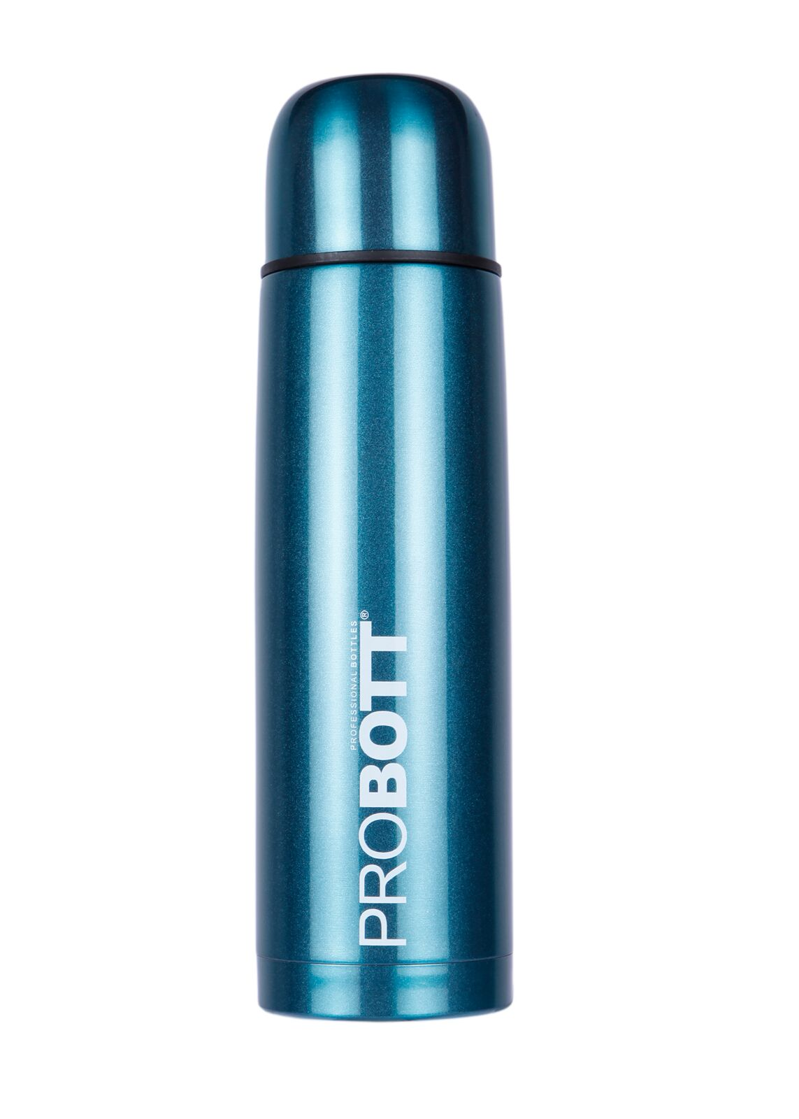 Probott Vacuum Flask 750 Ml Assorted With Sling Cover Stainless steel Thermoware in Blue / Green / Black / Red Colour by Probott