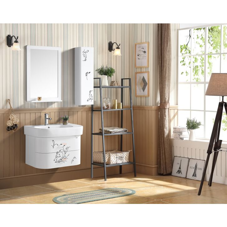 Iris Bath Vanity in White Colour by HomeTown