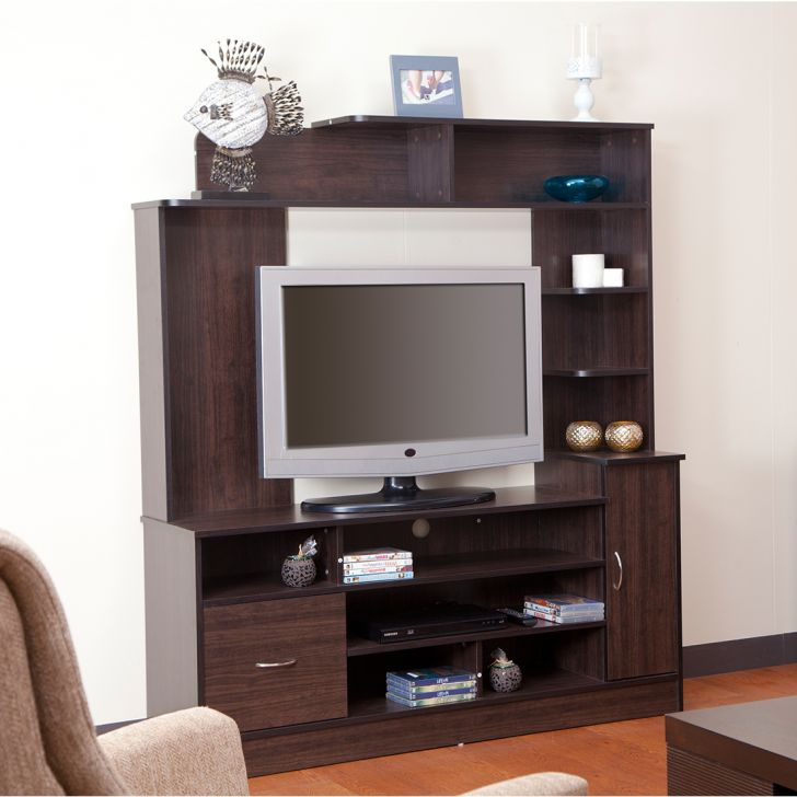 Payton Engineered Wood TV Unit in Wenge Colour by HomeTown